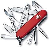 Victorinox Taschenmesser Deluxe Tinker (17 Funktionen, Phillips-Schraubendreher, Kombizange, Schere)...