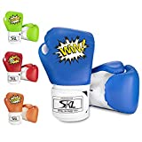 SKL Kinder Boxhandschuhe, Pu Kinder Kinder Cartoon Sparring Boxhandschuhe Training Alter 5-12 Jahre