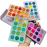 Beauty Glazed 60 Farben Lidschatten Palette Bunt Nudetöne Regenbogen Colour Board Schminkpalette...