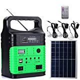 cyg Solar Home System, Tragbar Solar Beleuchtung System Gleichstrom-Erzeugungssystem 10W...