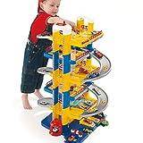 Parkgarage für Kinder 6 Ebenen Parkhaus Kinder Spielzeug Auto Rennbahn Spielstrasse Autobahn...
