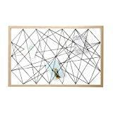 Dresz Fototafel mit Gummibndern - Bilderrahmen Collagen Wood - Wanddekoration Organizer - Foto Panel...