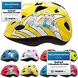 Skullcap® Fahrradhelm für Kinder Helm für City-Roller, Longboard, Scooter - Gelber Helm für...