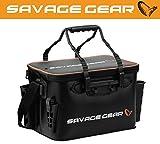 Savage Gear Boat & Bank Bag M (42x26x25cm) Angeltasche zum Spinnfischen, Spinntasche, Blinkertasche,...