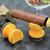 Zigarre Aschenbecher Taschen-Aschenbecherhalter, Zigarrenaschen Keramik Tischplatte Verwendung Als...
