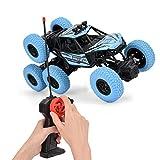Nannday Fernbedienung Auto, 1/20 Skala elektronische 6-Rad-Antrieb Fernbedienung Crawler Buggy...