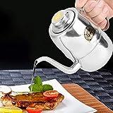 Einfache Reinigung Korrosionsbeständige Lange Ausguss Öl kann Essig Flasche Hotel für Home...