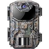 Victure Wildkamera 20MP mit Bewegungsmelder Nachtsicht 1080P Beutekameras mit Infrarot Leichtes...