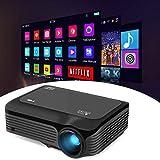 MUDEREK HD LED 4K 1080P Beamer, Professionelle Heimkino-Projektor-Ausrüstung, LED-Projektor für...