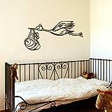 yaonuli Big Storch Baby Kinderbetreuung Wand Schlafzimmer Schrank Aufkleber Transfer Vinyl Aufkleber...