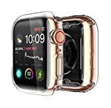 Yolin [2-Pack] Apple Watch Series 5 / Series 4 Schutzhülle, iwatch case Weiche Ultradünne TPU...