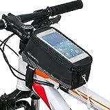 Bestfire Fahrradrahmen-Tasche, Wasserdichte Vordertasche, Lenker-/Rahmentasche,...