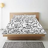 QINCO Bettwsche-Set,Stammes-afrikanischen Muster Animal Print,1 Bettbezug 240x260 + 2...
