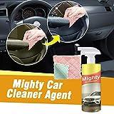 BESSKY Multi-Purpose Car Cleaner, Mighty Glass Cleaner Antibeschlagmittel Spray Autofensterreiniger...