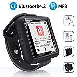 Mymahdi Sport Music Clip, 8 GB Bluetooth-MP3-Player mit FM-Radio- / Sprachaufzeichnungsfunktion,...