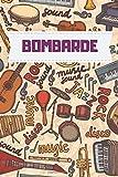 Bombarde Music notebook : Practice & Progress Lesson Notebook