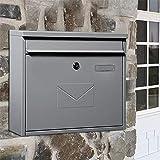 YONGYONGCHONG Briefkasten Suggestion Box Villa Mailbox Außen Zeitung Magazin Letter Box Postbox...