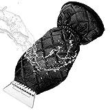 MATCC Eiskratzer Mit Handschuh Auto Eiskratzerhandschuh Innen Velours Gefüttert Nie Eingefrorene...
