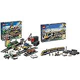 LEGOCity Güterzug (60198) Kinderspielzeug & Personenzug (60197) Spielzeugeisenbahn