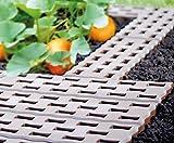 Gartenplatten Beetplatten Bodenplatten Gehweg 0,95 qm² 4,8m 8 Stück von rg-vertrieb