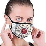 TRUJDNS Gesichtsmaske Personalisierte Mundmaske, NEU Kartenspiel Stoff Romm Royal Game Unisex...