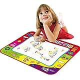 Intelligenz Spielzeug Kinder Regenbogen Color Magic Doodle Wasser-Zeichnungs-Mat mit Stift, Größe:...