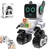 HBUDS Roboter Spielzeug für Kinder, Intelligent Ferngesteuerter Roboter mit LED-Licht Touch &...