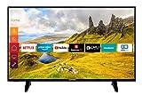 Telefunken XU40J521 102 cm / 40 Zoll Fernseher (Smart TV inkl. Prime Video / Netflix / YouTube, 4K...