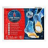 THE HEAT COMPANY Fußwärmer - 5 Paar - EXTRA WARM - klebend - Zehenwärmer - 8 Stunden warme Füße...