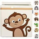 GLÜCKSWOLKE Kinder Aufbewahrungsboxen - 10 Motive I Spielzeugkiste mit Deckel für Kinderzimmer I...