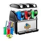 Royal Catering Slush-Eis-Maschine Slushie Maker RCSL 3/15 (3 x 15 L, 900 W, -2 bis -3 °C, BPA-frei,...