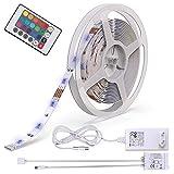 B.K.Licht LED Stripes, 5m Stripe, Lichterkette, Band, Streifen, LED Leiste, LED Lichtleiste, LED...