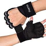 FREETOO Fitness Handschuhe Atmungsaktive rutschfeste Trainingshandschuhe Gewichtheben Handschuhe mit...
