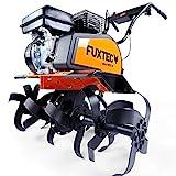 FUXTEC Benzin Gartenfrse FX-AF1212 Motorhacke Ackerfrse Bodenfrse Bodenhacke Kultivator mit Rder,...
