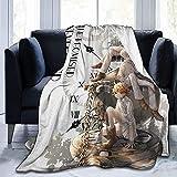 QWAS The Promised Neverland Decke,The Promised Neverland Blanket.100% Mikrofaser Kinderdecke, Decken...