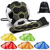 dibikou Fußball-Trainingsgerät für Kinder und Erwachsene, freihändiges Trainieren, perfekt für...