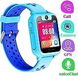 LDB Kinder Smartwatch, Smart Watch Phone LBS Tracker Mikro Chat Anruf SOS Kamera Taschenlampe...