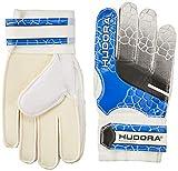 HUDORA Torwart-Handschuhe Kinder, Fußball-Handschuhe - 71536/01, weiß-blau, S