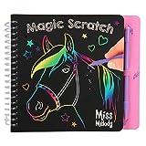 Depesche 10709 - Malbuch Magic Scratch Book, Miss Melody