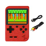 Handheld Spielkonsole, Retro Mini Handkonsole NES FC Spiele Konsole Videospielkonsole 400 Games mit...