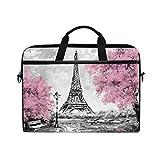 Linomo Laptoptasche Eiffelturm Paris Frankreich Laptop Sleeve Tasche Aktentasche Messenger Sleeve...