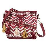 N/D Tasche Im Chinesischen Stil, Kette Quaste Beuteltasche, Farbe Einzelschulter Polyester...
