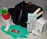 1.-Erste-Hilfe-Set speziell für den Hund (mit 0,5 l-Flasche)-schwarz- -– enthält NUR Artikel die...