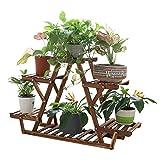 unho Blumenregal Blumentreppe 6 Ebenen Pflanzentreppe für Indoor Balkon Wohzimmer Outdoor Garten...