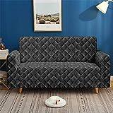 Morbuy 3D Klassisch Sofabezug Sofaüberwürfe für 1/2/3/4 Sitzer Armlehnen L-Form Sofa, Elastische...