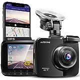 AZDOME 4K WiFi Dashcam mit GPS Autokamera mit 170° Weitwinkelobjektiv, Nachtsicht, Loop-Aufnahme,...