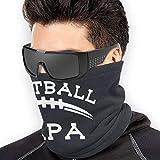 NA Football Papa Unisex Microfiber Neck Warmer Neck Gaiter Face Mask Bandana Balaclava