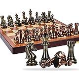 Chachspiel chess schach schachbrett kinder Schachspiel Schach High-End-Geschenkbox Set Retro-Stil...