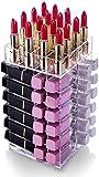 FGART Lippenstift Halter 64 Lippenstift Turm Veranstalter Spinning Lipstick Turm Lipgloss Halter...