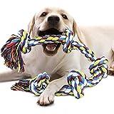 VIEWLON Hundespielzeug Seil für Starke große Hunde, Zerrspielzeug Hund Robuste Kauspielzeug 5...